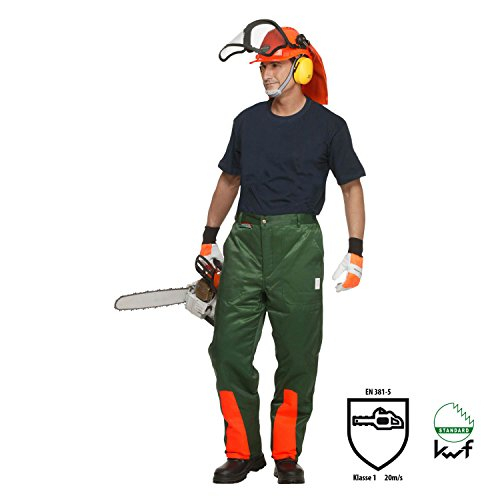 OREGON YUKON Schnittschutzhose Bundhose Größe L 295435//l Forsthose Motorsägen