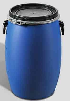 Griffmulde 2 x 30 Liter Weithalsfass Weithalstonne Deckelfass mit Spannring