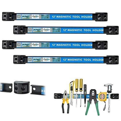Element System 11413-00002 Bohrer-Leiste//f/ür Werkzeuglochwand//Lochplattenwand//wei/ß