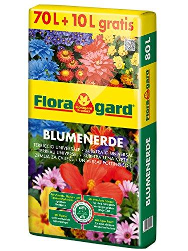 floragard blumenerde 40 l universalerde f r balkon k bel und zimmerpflanzen