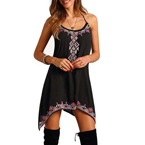 Kleider Damen Dasongff Damen Sommerkleider Strandkleid ...